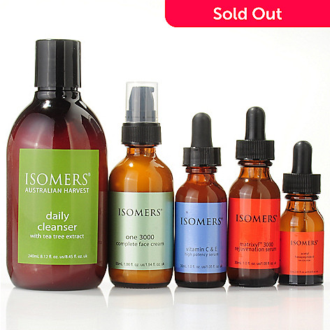 300-348 - ISOMERS Anti-Wrinkle Birthday 5pc Skincare Collection