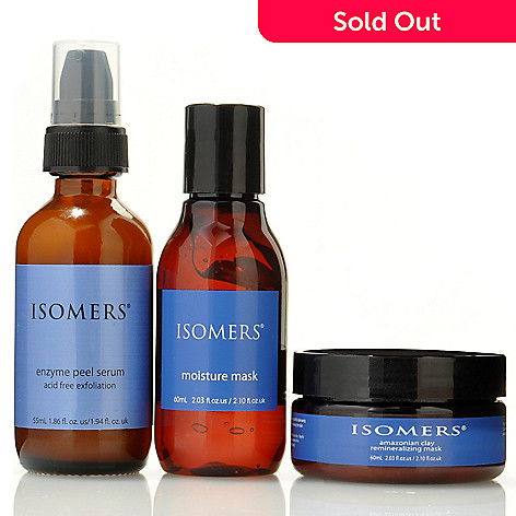 300-383 - ISOMERS 3pc Beauty Mask Skincare Collection