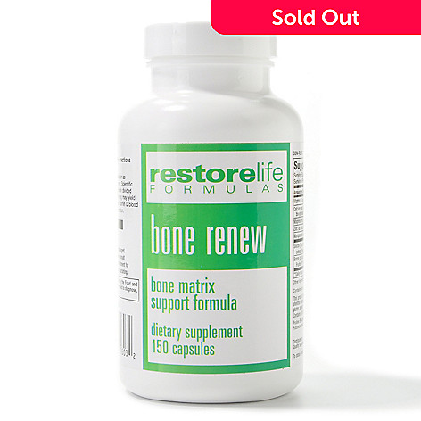 300-478 - Suzanne Somers RestoreLife Bone Renew Supplements 30 Day Supply