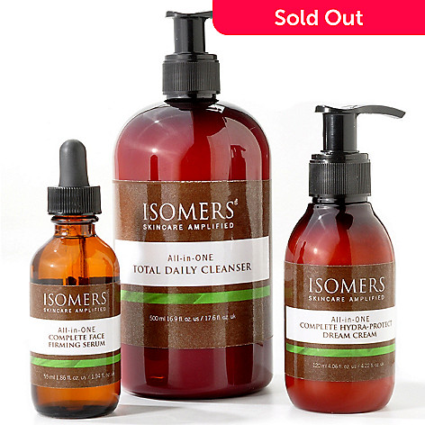 300-566 - ISOMERS All-In-One 3pc Total Skincare System