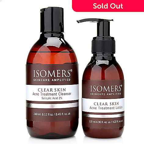 300-626 - ISOMERS® Clear Skin Acne Treatment Cleanser & Lotion Duo