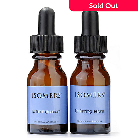 300-652 - ISOMERS Lip Firming Serum Duo .51 fl oz Each