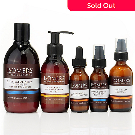 "300-674 - Isomers ""The New Essentials"" Anti-Aging Five-Piece System"