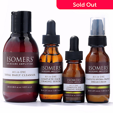 300-713 - ISOMERS® Four-Piece All-in-ONE Universal Skincare System Discovery Kit