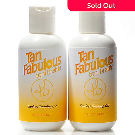 300-781 - Toni Brattin Tan Fabulous Self Tanning Gel 2 Pack