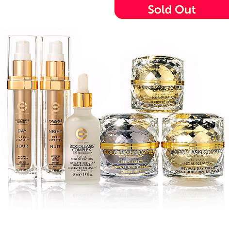 300-799 - Elizabeth Grant Biocollasis Complex Vitality Revival Day & Night Six-Piece Collection