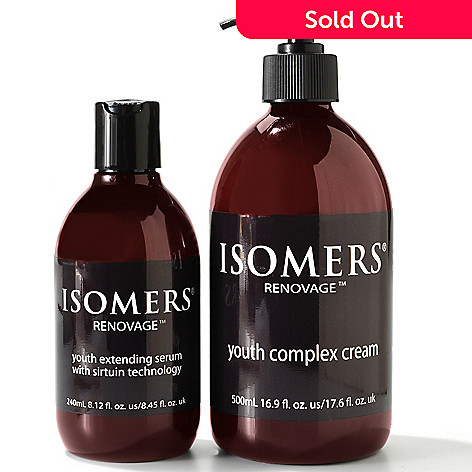 300-833 - ISOMERS Renovage Youth Extending Skincare Bonus Size Duo