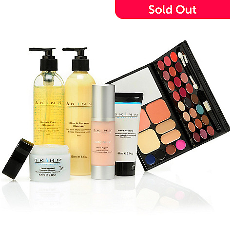 301-039 - Skinn Cosmetics Six-Piece Non-Negotiables Skincare & Color Collection
