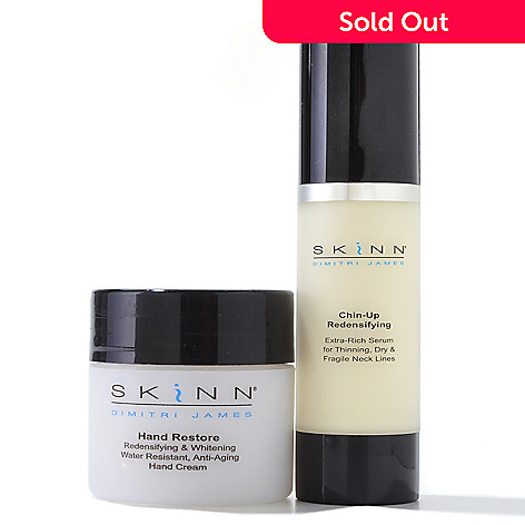 301-111 - Skinn Cosmetics Chin-Up Firm, Lift & Tone w/ Bonus Hand Restore