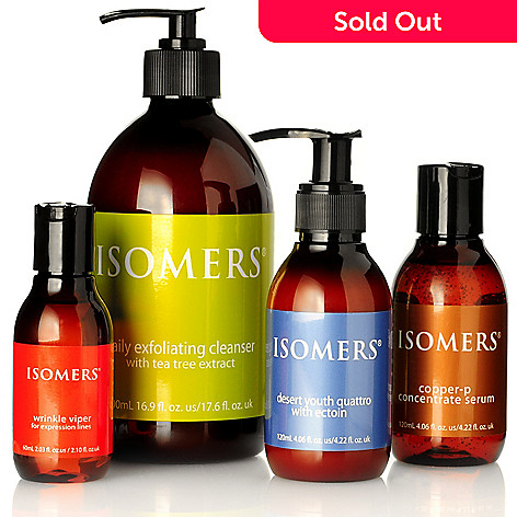 301-130 - ISOMERS Four-Piece Bonus Size Winter Skincare Essentials