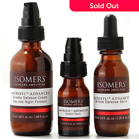 301-134 - ISOMERS® Matrixyl™ Advanced Wrinkle Defense Trio
