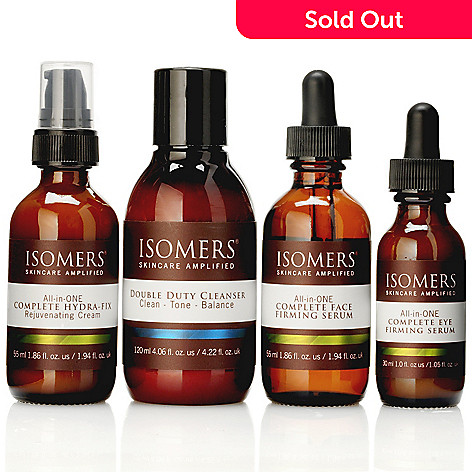 301-139 - ISOMERS Skincare Four-Piece All-in-ONE Series Skincare System