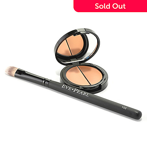 301-150 - EVE PEARL® Cosmetics Dual Salmon Concealer & Brush .14 oz