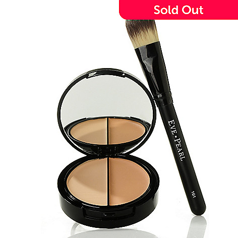 301-151 - EVE PEARL Cosmetics HD Dual Foundation & Brush .39oz