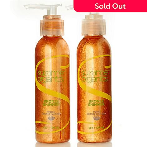 301-220 - Suzanne Somers Organics Bronzer Duo 4 oz Each