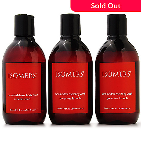 301-275 - ISOMERS® Wrinkle Defense Body Wash Trio