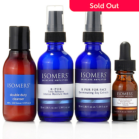 301-337 - ISOMERS Four-Piece Firming Nighttime System Featuring R Pur Series