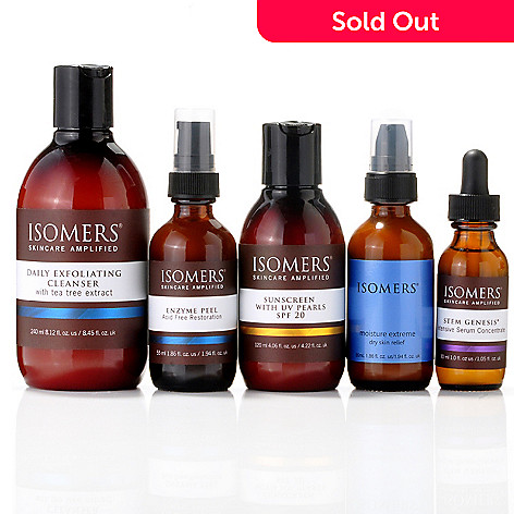 301-339 - ISOMERS Five-Piece Fan Favorites Skincare Essentials