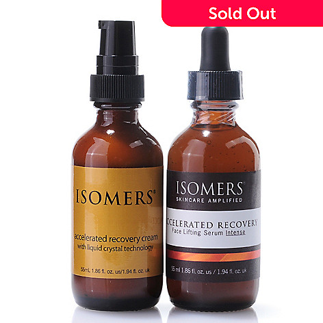 301-406 - ISOMERS Accelerated Recover Serum Bonus Size 1.86 oz & Cream 1.86 oz