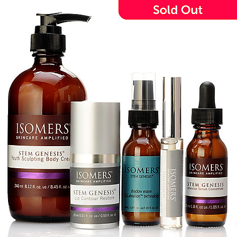 301-411 - ISOMERS® Five-Piece Stem Genesis® Skincare Collection