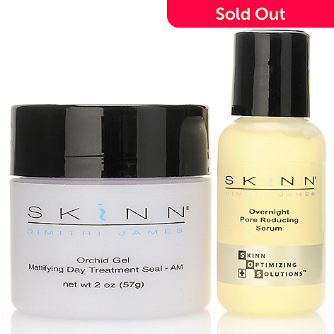 301-437 - Skinn Cosmetics Pore Reduction Serum & Mattifying Treatment Duo
