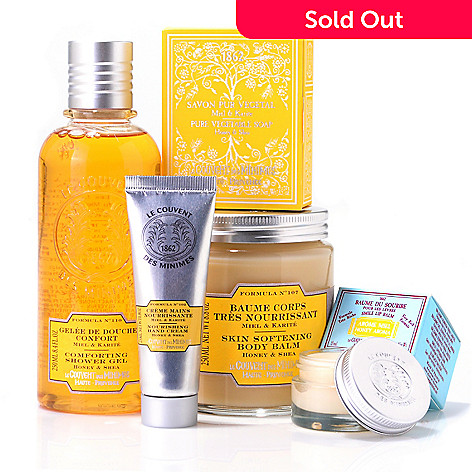301-490 - Le Couvent des Minimes Five-Piece Honey & Shea Body Collection