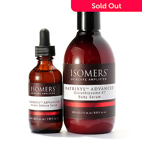 301-504 - ISOMERS Skincare Matrixyl Advanced Face & Body Serum Duo