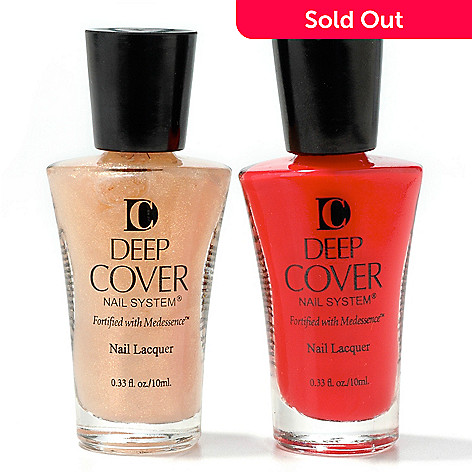 301-979 - Deep Cover Limited Edition Polish Duo 0.33oz each