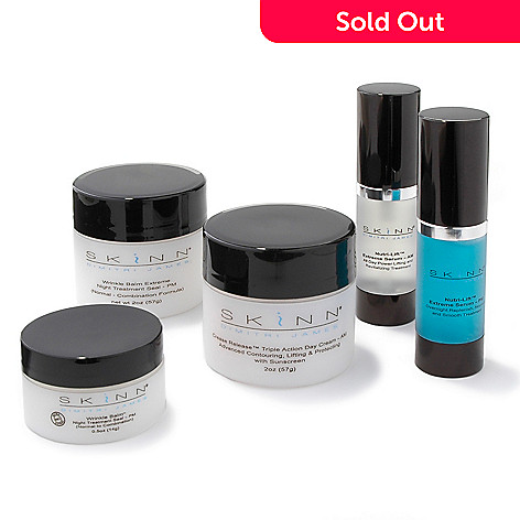 302-533 - Skinn Cosmetics Total Treatment Five-Piece Skincare System