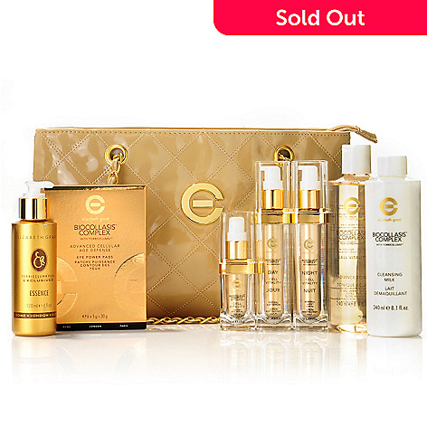 303-868 - Elizabeth Grant 12-Piece Cell Vitality Skincare Collection w/ Bag