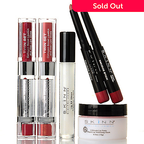 303-913 - Skinn Cosmetics Six-Piece ''Great Lips'' Collection