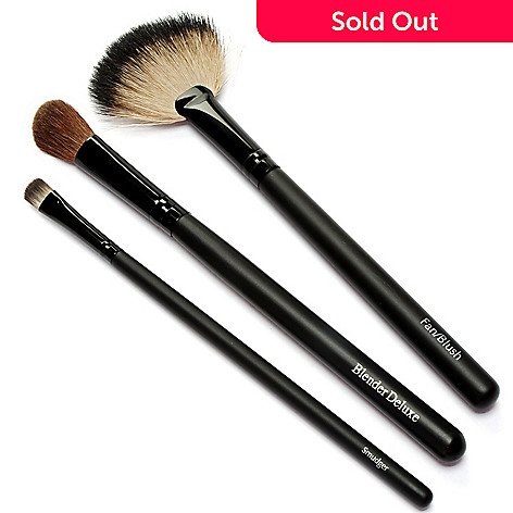 303-997 - EVE PEARL® Cosmetics Three-Piece Ultimate Brush Set