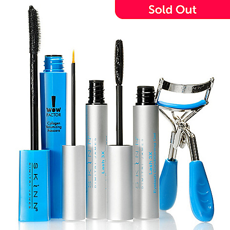 304-398 - Skinn Cosmetics Four-Piece Phenomenal Lashes Set