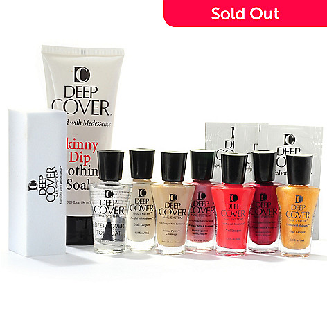 304-406 - Deep Cover 12-Piece ''Gorgeous'' Nail Collection