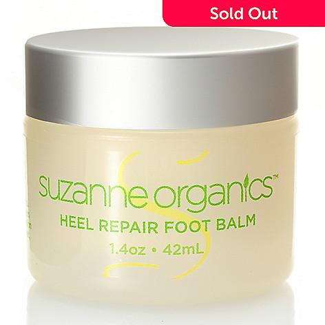 304-418 - Suzanne Somers Organics Heel Help Foot Balm 1.4 oz