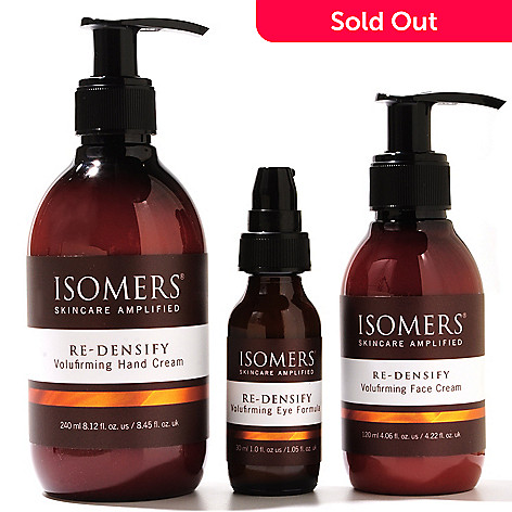304-458 - ISOMERS Skincare Re-Densify Volufirming Bonus Size Trio