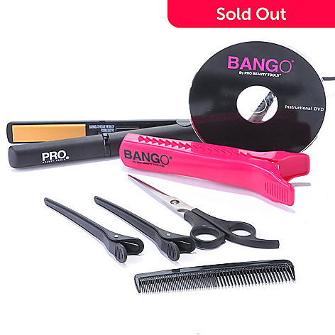 304-471 - ProBeauty Tools Bango® Hair Trimmer + Straightening Styler Set