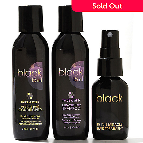 304-474 - Black 15in1® Three-Piece Miracle Treatment Hair Care System