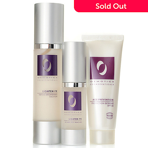 304-492 - Osmotics Cosmeceuticals Lighten FX Skincare Duo w/ Age Prevention