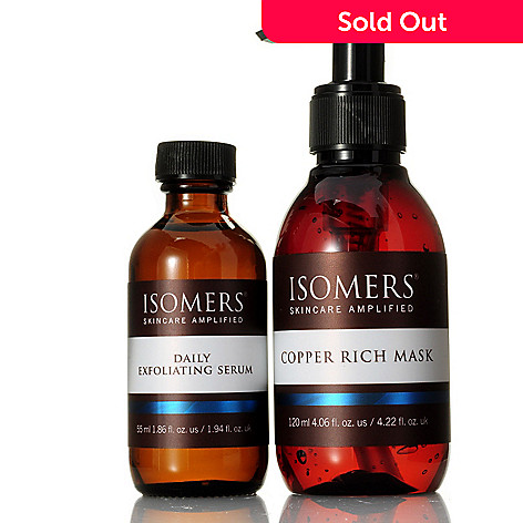 304-504 - ISOMERS Skincare Bonus Size Copper Mask w/ Daily Exfoliating Serum