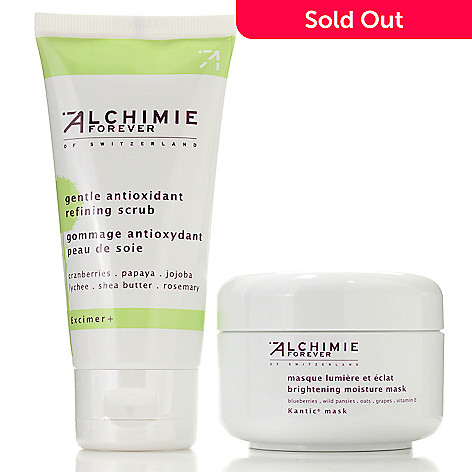 304-587 - Alchimie Forever Two-Piece Spa Facial At Home Kit