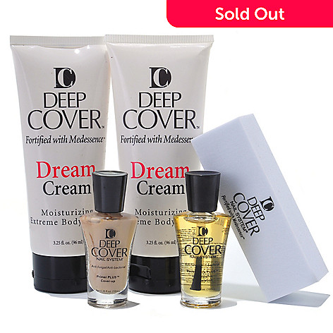 304-597 - Deep Cover Five-Piece Universal Nail Treatment Kit