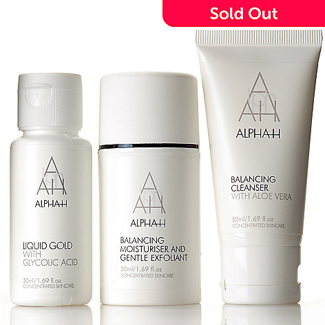 304-661 - Alpha-H Three-Piece Skincare Essentials Collection