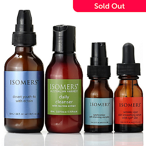 304-706 - ISOMERS Skincare Four-Piece Desert Youth Bonus Size w/ Try Me Trio System