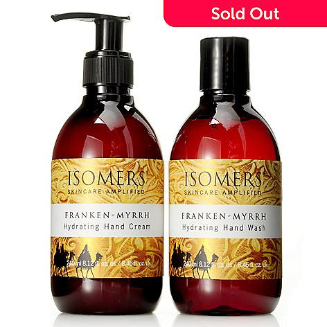 304-721 - ISOMERS Skincare Franken-Myrrh Hand Wash & Hand Cream Duo 8.12oz each