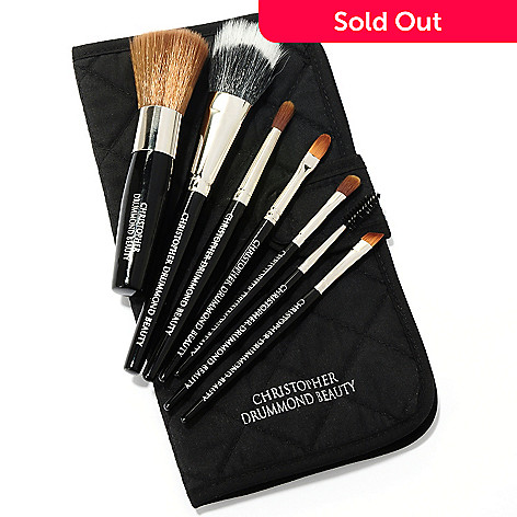 304-756 - Christopher Dummond Beauty Eight-Piece Travel Brush Set