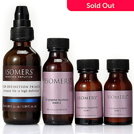 304-769 - ISOMERS Skincare Four-Piece Primer & Foundation System