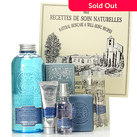 304-797 - Le Couvent des Minimes Six-Piece Lavender & Acacia Relaxing Set
