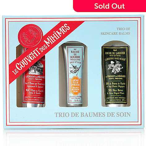 304-798 - Le Couvent des Minimes Three-Piece Balm Set