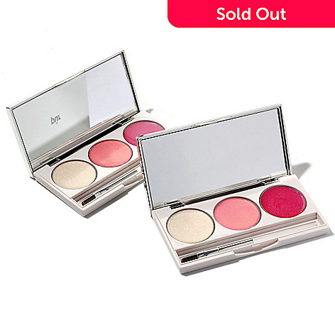 304-818 - Pür Minerals Buy One, Get One ''On-the-Go'' Lip Gloss Palettes 0.16oz each